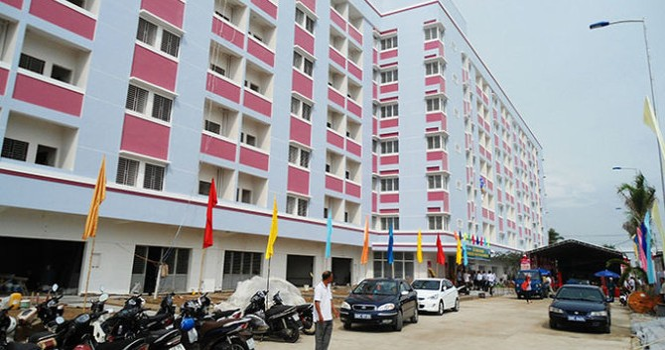 Khánh thành chung cư hiện đại đầu tiên của Kiên Giang