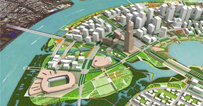 Vingroup sẽ xây khu phức hợp thể thao, giải trí trong khu đô thị mới Thủ Thiêm