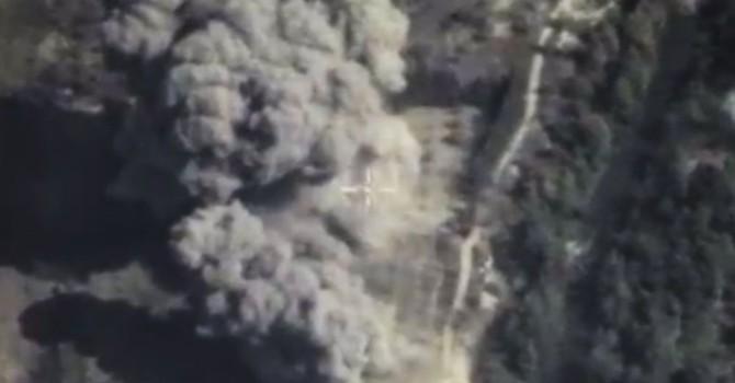 Bộ Quốc phòng Nga công bố Video hạ mục tiêu IS