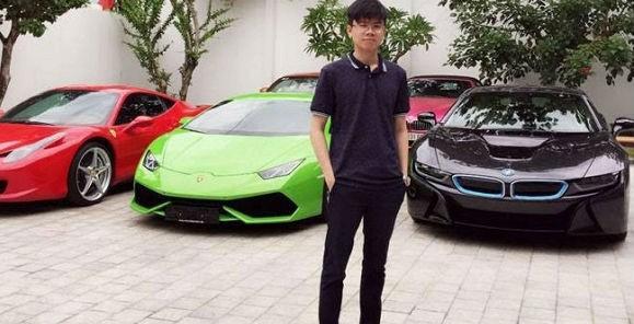 Em trai thiếu gia Phan Thành với thú chơi xe không thua kém anh