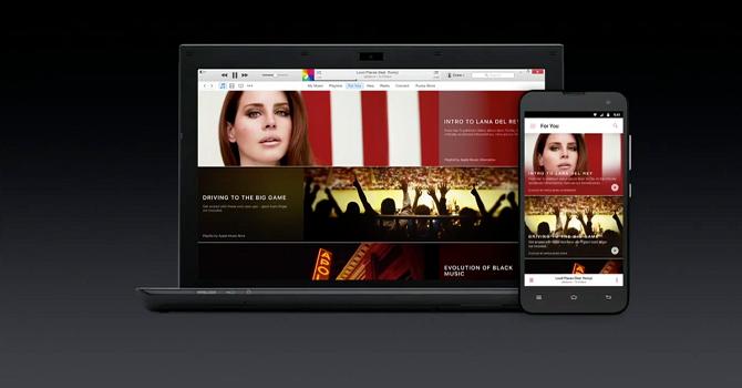 Rò rỉ giao diện Apple Music trên Android