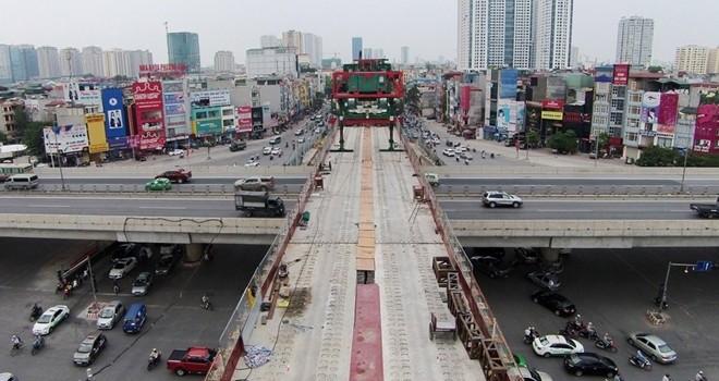Đường sắt Cát Linh - Hà Đông đội vốn thêm 315 triệu USD