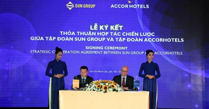 """Sun Group """"bắt tay"""" cùng tập đoàn quản lý khách sạn AccorHotels"""