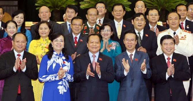 Danh sách 61 bí thư tỉnh ủy, thành ủy trên cả nước