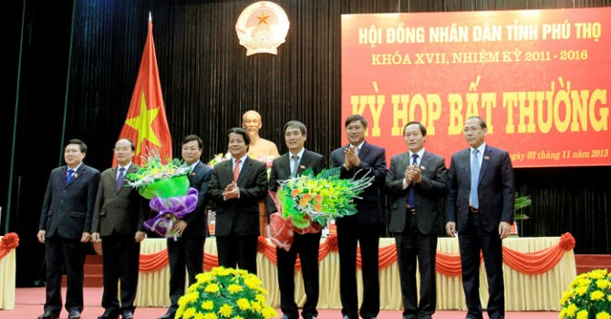 Phú Thọ có Chủ tịch tỉnh mới