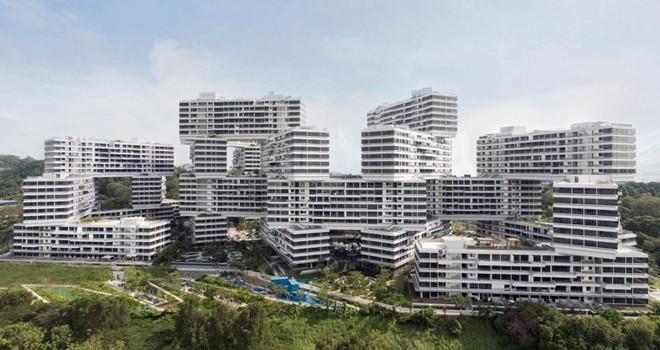 """Ngắm khu chung cư có thiết kế """"đẹp nhất thế giới"""""""