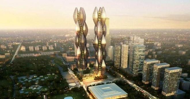 Hai tòa tháp cao nhất Việt Nam chỉ nằm trên giấy