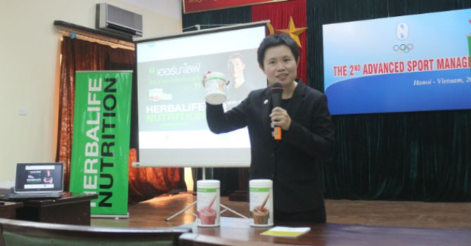 Herbalife phát triển cùng thể thao Việt Nam