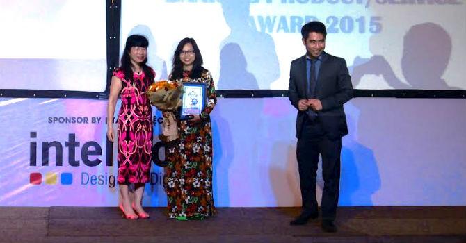 SHB được trao giải ngân hàng có sản phẩm dịch vụ sáng tạo tiêu biểu năm 2015