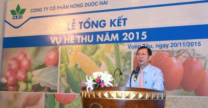 HAI: Doanh thu 9 tháng năm 2015 bằng 107% kế hoạch năm