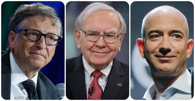 Bill Gates, Warren Buffett, Zeff Bezos, ai quyền lực nhất?