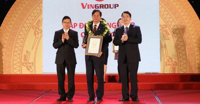 Vingroup tiếp tục là doanh nghiệp tư nhân nộp thuế lớn nhất Việt Nam