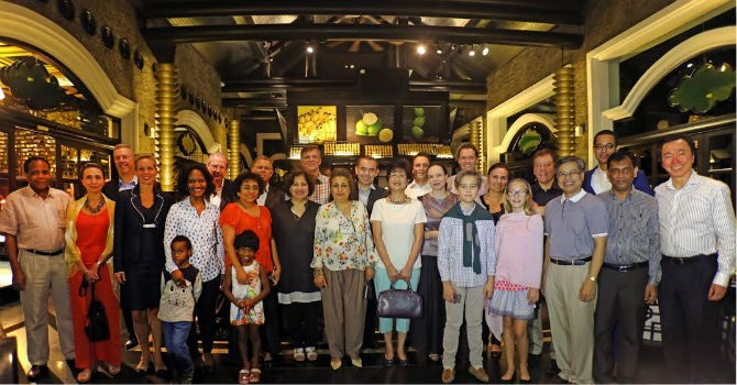 InterContinental Danang Peninsula Resort đón các đại sứ trong Câu lạc bộ Đại sứ ẩm thực