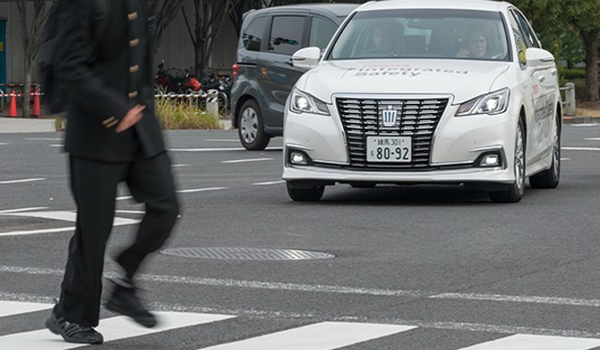 Toyota phát triển công nghệ lái tự động