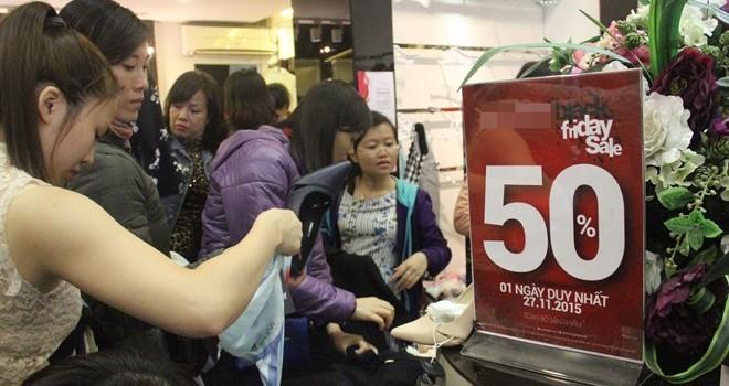Bí mật của cửa hàng giảm giá 50% toàn bộ sản phẩm