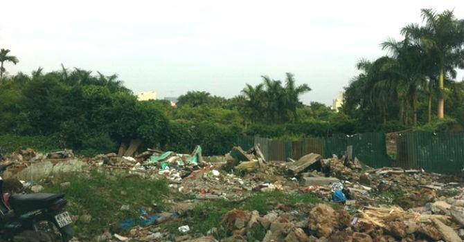 Hà Nội: Khởi công dự án công viên Mai Dịch vào cuối tháng 12