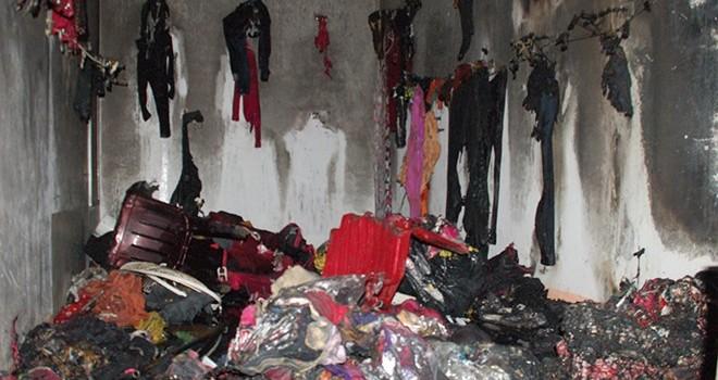 Quảng Ninh: Cháy chợ trong đêm, hàng loạt ki-ốt bị thiêu rụi