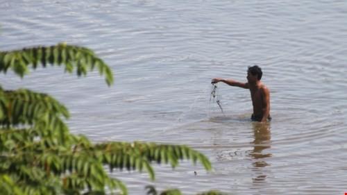 Người bắt cá trong sân bay Biên Hòa nhiễm dioxin cao gấp 200 lần