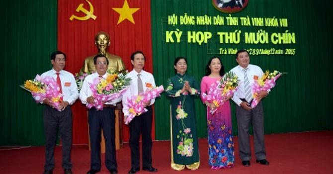 Trà Vinh có 3 Phó chủ tịch tỉnh mới
