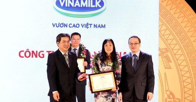 Vinamilk đứng đầu Top 10 doanh nghiệp tư nhân lớn nhất Việt Nam