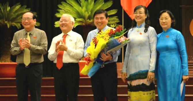 Ông Nguyễn Thành Phong làm Chủ tịch UBND TP.HCM