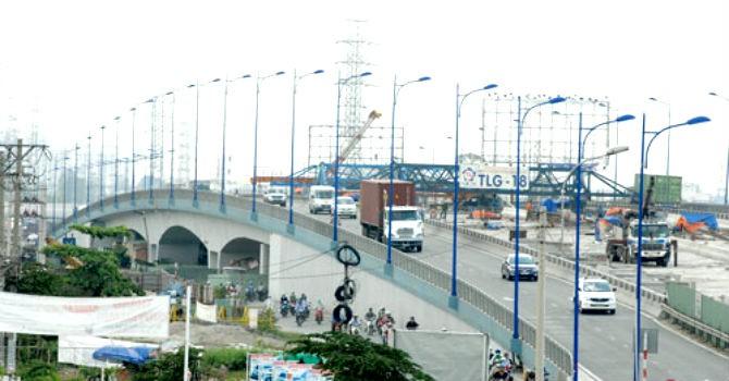 TP.HCM: Thông xe cầu Rạch Chiếc 2 trước Tết Nguyên đán 2016