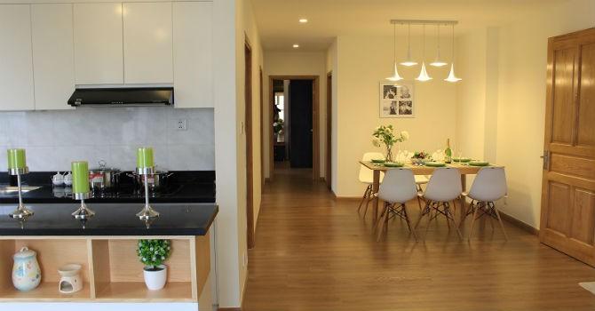 Bung hàng những căn hộ Parkview Residence hoàn thiện cao cấp