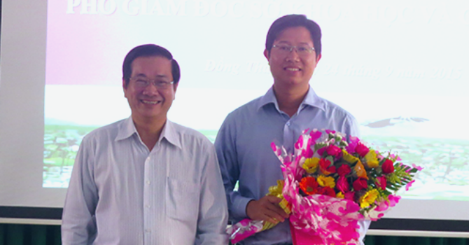 Đồng Tháp bổ nhiệm giám đốc sở 35 tuổi