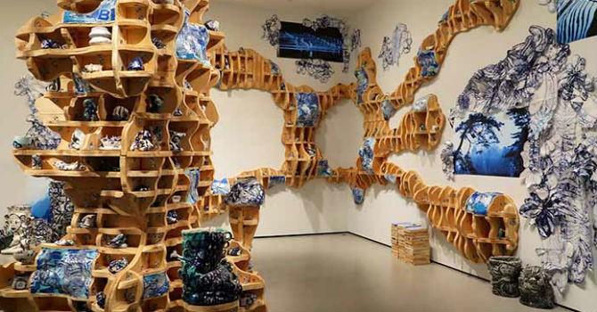 Cuối tuần lắng lòng trong không gian của các triển lãm nghệ thuật