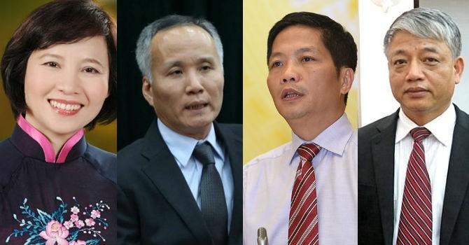 Thủ tướng bổ nhiệm lại 4 thứ trưởng