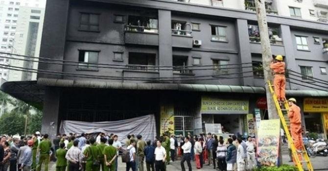 Hà Nội tổng kiểm tra phòng chống cháy nổ tại các chung cư, trung tâm thương mại