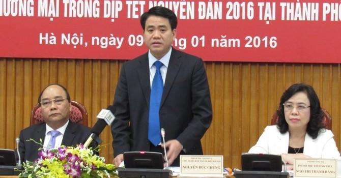 Chủ tịch Hà Nội: Siêu thị phải mở cửa tối 30, sáng mùng 1