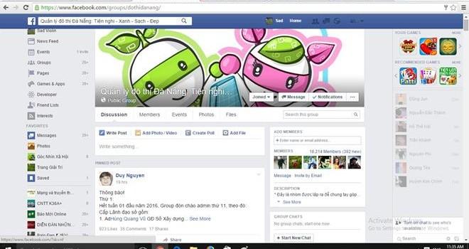 Đà Nẵng: Lãnh đạo 4 sở làm quản trị viên tiếp nhận phản ánh người dân từ Facebook
