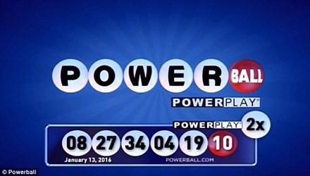 Đã có người trúng giải độc đắc Powerball 1,5 tỷ USD
