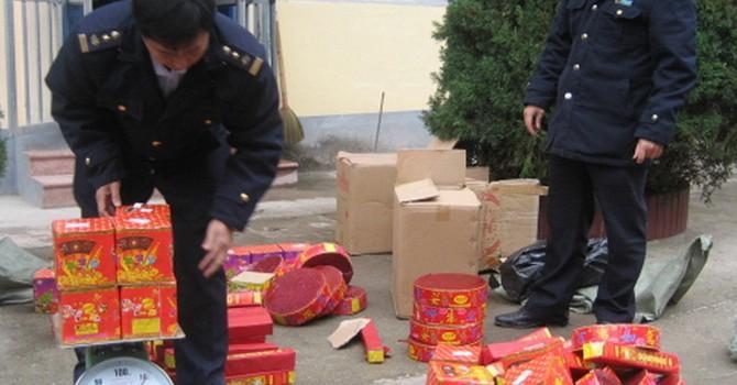 Bắt giữ hơn 300 kg pháo nhập lậu từ Trung Quốc