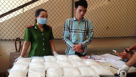 """Phá đường dây ma túy """"khủng"""" từ Trung Quốc về Việt Nam"""
