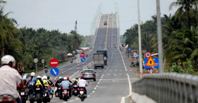 1.800 tỷ đồng nâng cấp Quốc lộ 60 đoạn cầu Rạch Miễu-cầu Cổ Chiên