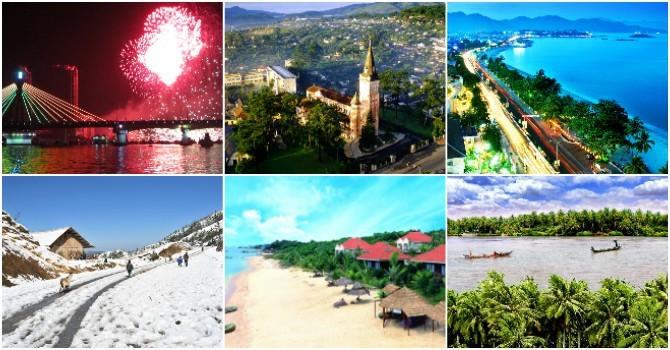 Những điểm du lịch thú vị tết 2016