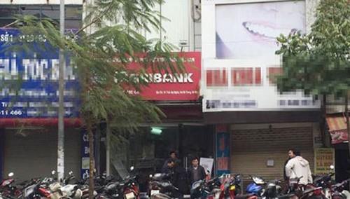 Điều tra vụ cướp ngân hàng trên phố Trần Đại Nghĩa