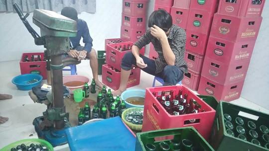 """Phá đường dây """"đánh tráo"""" bia Sài Gòn"""