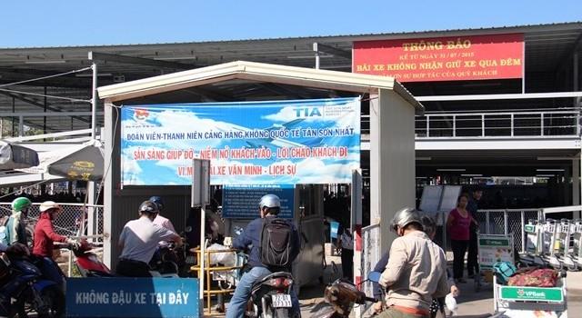 Đình chỉ nhân viên thu phí gian lận tại bãi xe Tân Sơn Nhất