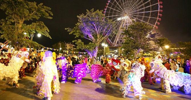 Lễ hội Hạt ngọc trời tưng bừng tại Asia Park