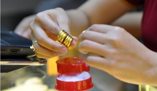 Giá vàng giảm nhẹ sáng đầu tuần