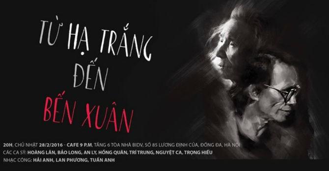 Cuối tuần thưởng thức cà phê giữa không gian nhạc Trịnh- Văn Cao