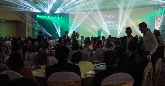 Giao dịch sôi động tại lễ mở bán Vincom Shophouse Thái Bình