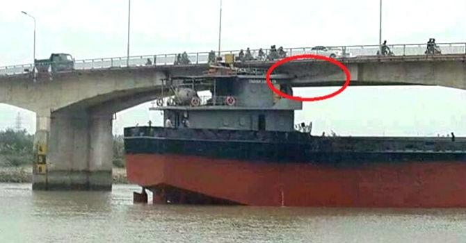 Tàu nghìn tấn đâm nứt cầu An Thái: Bộ Giao thông lập tổ công tác đặc biệt