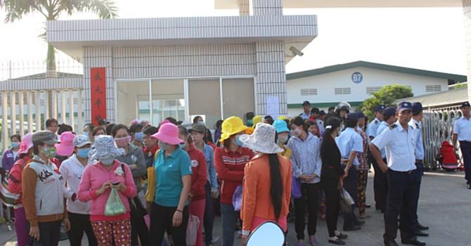 Công ty TNHH Dụ Đức - Tiền Giang: Đình công kéo dài do doanh nghiệp phản ứng chậm