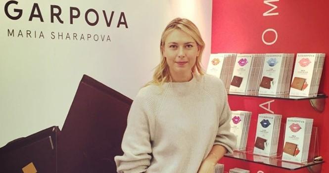 Kẹo chocolate Sharapova vẫn được sản xuất