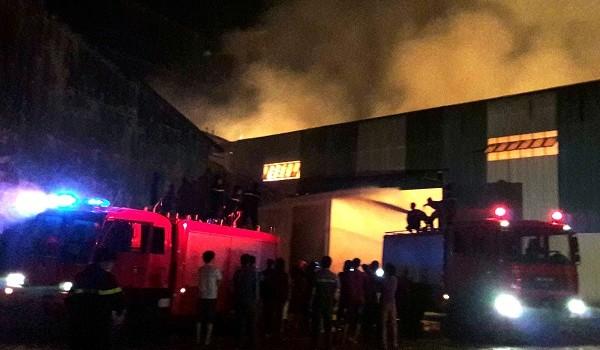 Cháy kho chứa 20.000 tấn sắn, thiệt hại gần 20 tỷ đồng
