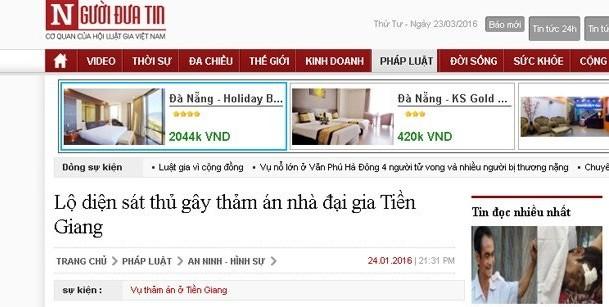 Xử phạt các báo Người đưa tin, Đất Việt đưa tin sai